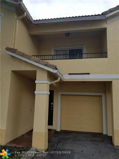 North Lauderdale Condo/Townhouse Backup Contract-Call LA: 1202 Belmont Ln