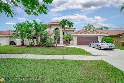 Boca Raton Single Family Home For Sale: 9669 Carousel Cir