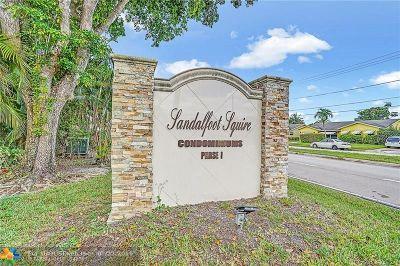 Boca Raton FL Condo/Townhouse For Sale: $154,000