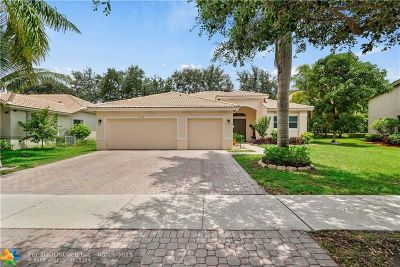 Coconut Creek Single Family Home For Sale: 5215 NW 51st St