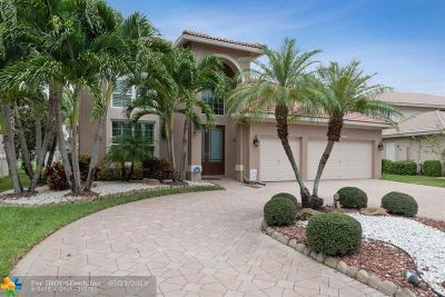 Coral Springs Single Family Home For Sale: 5924 NW 54th Cir
