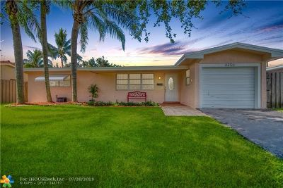 Pembroke Pines Single Family Home Backup Contract-Call LA: 8650 NW 16th St