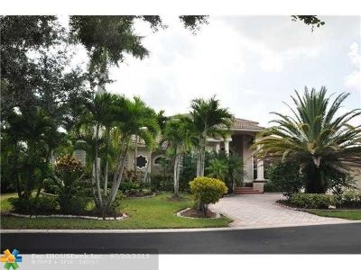 Coral Springs Single Family Home For Sale: 12100 NW 10th St