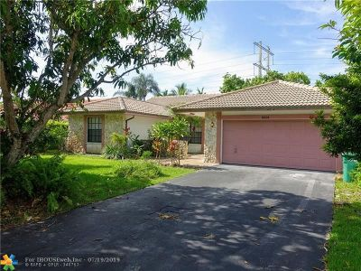 Coral Springs Single Family Home For Sale: 8514 NW 47th Dr