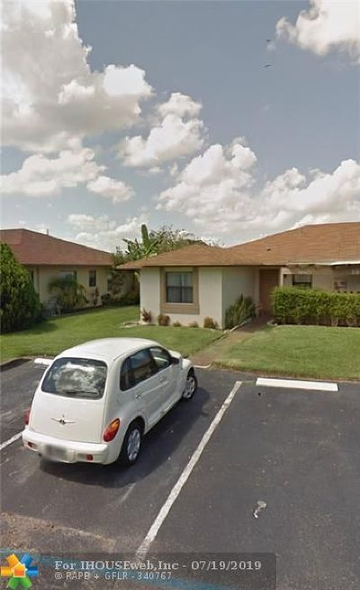 Single Family Home For Sale: 10971 NW 29th Mnr