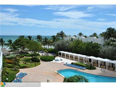 Hollywood Condo/Townhouse For Sale: 3001 S Ocean Dr #437
