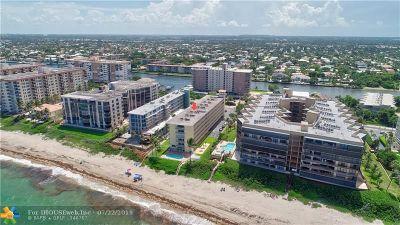 Hillsboro Beach Condo/Townhouse For Sale: 1161 Hillsboro Mile #203