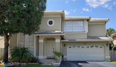 Coconut Creek Single Family Home For Sale: 5381 NW 41st Way