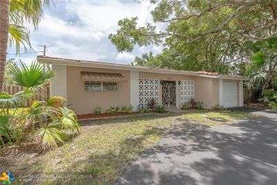 Oakland Park Single Family Home Backup Contract-Call LA: 3500 NW 21st Ave