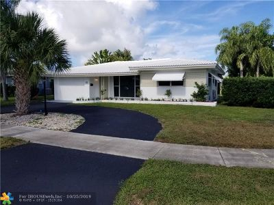 Pompano Beach Single Family Home For Sale: 330 SE 1st Ter