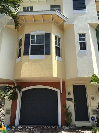 Pompano Beach Condo/Townhouse For Sale: 1031 S. Riverside Drive #1031