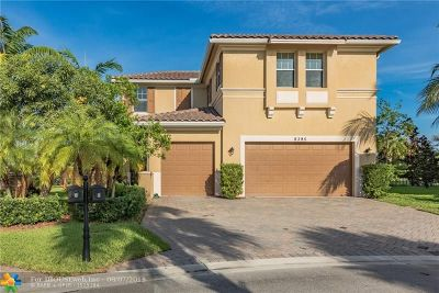 Parkland Single Family Home For Sale: 8395 NW 121st Way