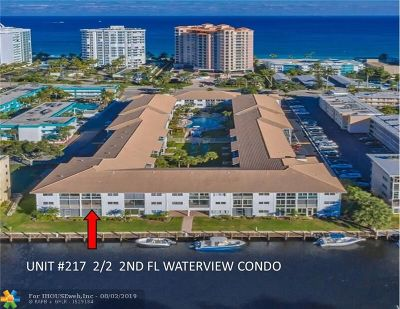 Lauderdale By The Sea Condo/Townhouse For Sale: 1461 S Ocean Blvd #217