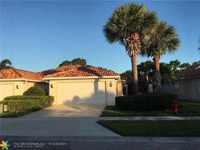Hobe Sound Single Family Home For Sale: 8344 SE Double Tree Dr