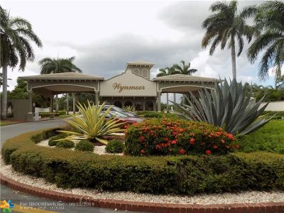 Coconut Creek Condo/Townhouse For Sale: 4302 Martinique Cir #C2