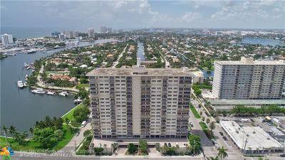 Fort Lauderdale Condo/Townhouse For Sale: 2500 E Las Olas Blvd #606