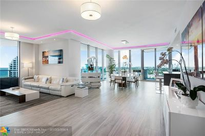 Fort Lauderdale Condo/Townhouse For Sale: 701 N Fort Lauderdale Beach Blvd #1605