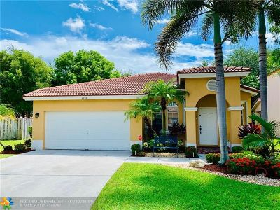 Coconut Creek Single Family Home For Sale: 4198 NW 43rd Way