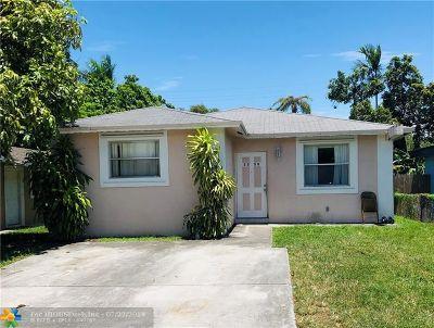 Hollywood Single Family Home For Sale: 2339 Farragut St