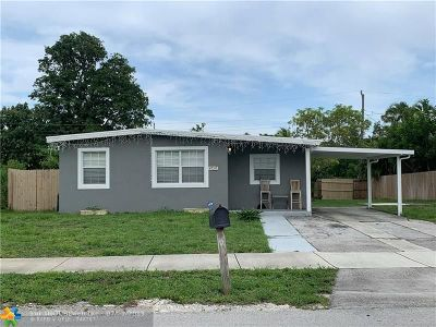 Pompano Beach Single Family Home For Sale: 4720 NE 14th Ave
