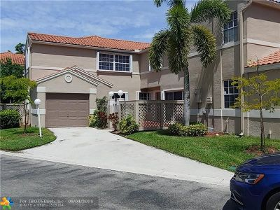 Cooper City Condo/Townhouse For Sale: 11125 Neptune Dr #11125