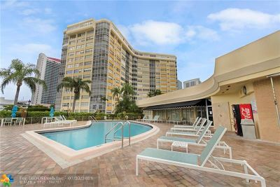 Hallandale Condo/Townhouse For Sale: 100 Golden Isles Dr #508