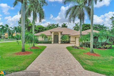 Plantation FL Single Family Home For Sale: $934,900