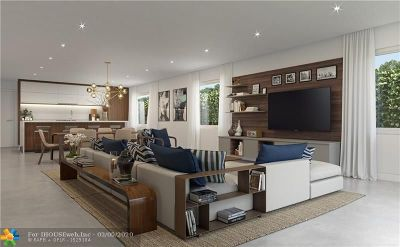 Fort Lauderdale Condo/Townhouse For Sale: 1298 NE 18th Avenue #1251