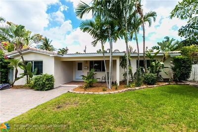 Fort Lauderdale Single Family Home For Sale: 1401 NE 14th St