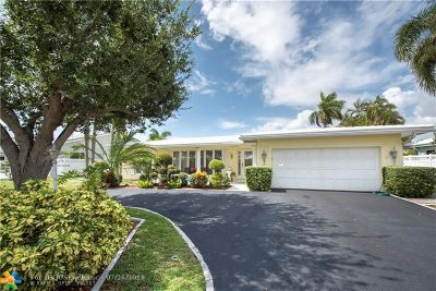 Fort Lauderdale Single Family Home For Sale: 2820 NE 55th St