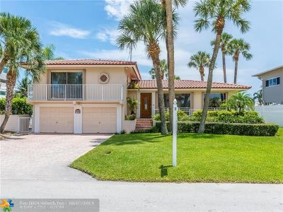 Deerfield Beach Single Family Home For Sale: 1548 SE 9th St