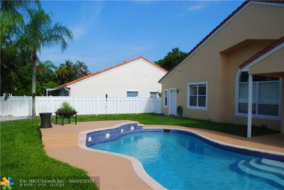 Coral Springs Single Family Home For Sale: 9130 NW 42nd Ct