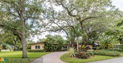 Fort Lauderdale Single Family Home For Sale: 1300 SW 19th St