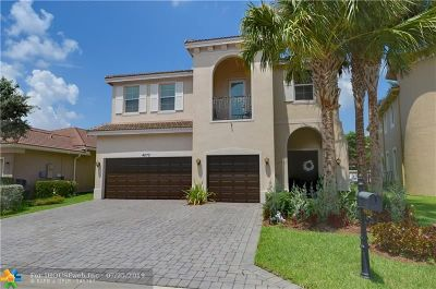 Coconut Creek Single Family Home For Sale: 4570 San Mellina Dr