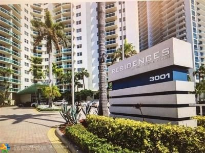 Hollywood Condo/Townhouse For Sale: 3001 S Ocean Dr #247