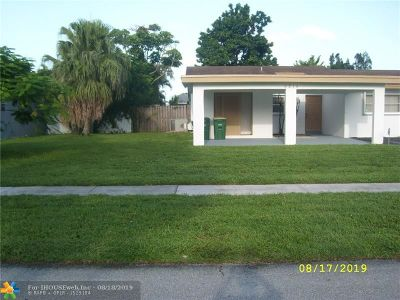 Tamarac Single Family Home For Sale: 8214 NW 75th Ave
