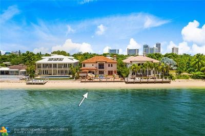 Cooper City, Coral Springs, Fort Lauderdale, Hallandale, Hillsboro Beach, Hollywood, Lighthouse Point, Oakland Park, Plantation, Pompano Beach, Sunrise, Wilton Manors Single Family Home For Sale: 1957 SE 21 Ave