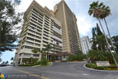 Condo/Townhouse For Sale: 4280 Galt Ocean Dr #10 A