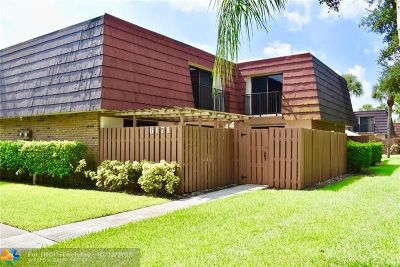 Tamarac Condo/Townhouse Backup Contract-Call LA: 6171 NW 55th Ln #6171