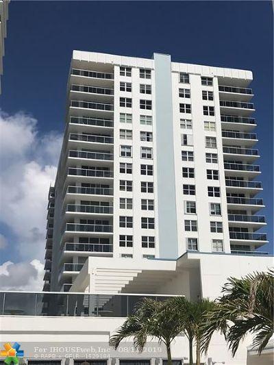 Hollywood Beach Condo/Townhouse For Sale: 2751 S Ocean Dr #308S