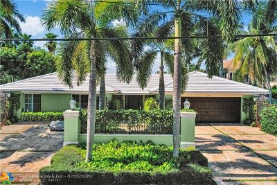 Coral Ridge, Coral Ridge 21-50 B, Coral Ridge Add, Coral Ridge Country Club Single Family Home For Sale: 2730 NE 25th St