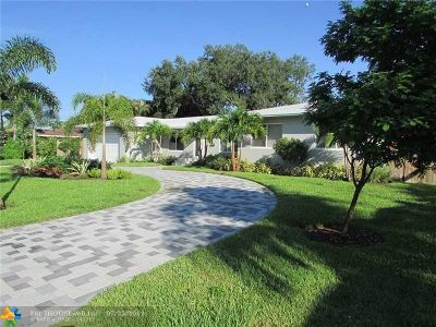 Wilton Manors Single Family Home Backup Contract-Call LA: 119 NW 21st Ct