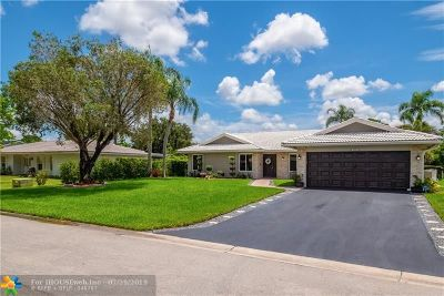 Coral Springs Single Family Home Backup Contract-Call LA: 2401 NW 114 Ave