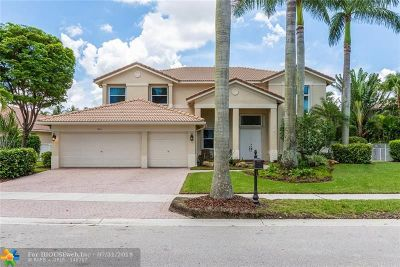 Weston Single Family Home For Sale: 861 Marina Dr