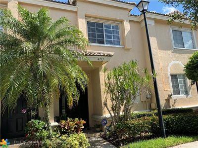 Coconut Creek Condo/Townhouse Backup Contract-Call LA: 4753 NW 57th Pl #4753
