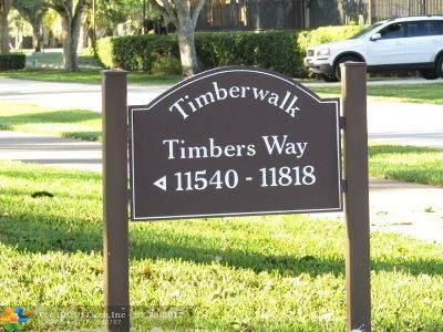 Broward County, Palm Beach County Condo/Townhouse For Sale: 11720 Timbers Way