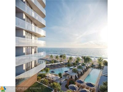 Cooper City, Coral Springs, Fort Lauderdale, Hallandale, Hillsboro Beach, Hollywood, Lighthouse Point, Oakland Park, Plantation, Pompano Beach, Sunrise, Wilton Manors Condo/Townhouse For Sale: 525 N Ft Lauderdale Bch Bl #1801