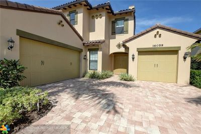 Delray Beach Single Family Home For Sale: 16059 Tuscany Estates Dr