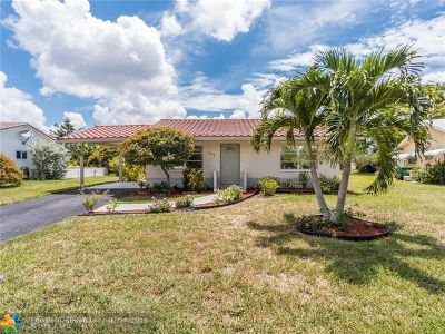 Tamarac Single Family Home For Sale: 7002 NW 95th Ave