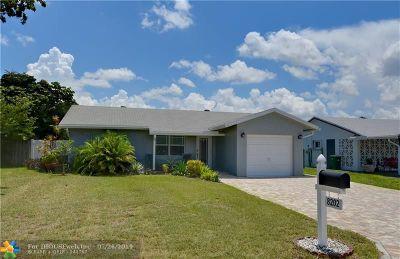 Tamarac Single Family Home Backup Contract-Call LA: 8202 NW 91st Ter